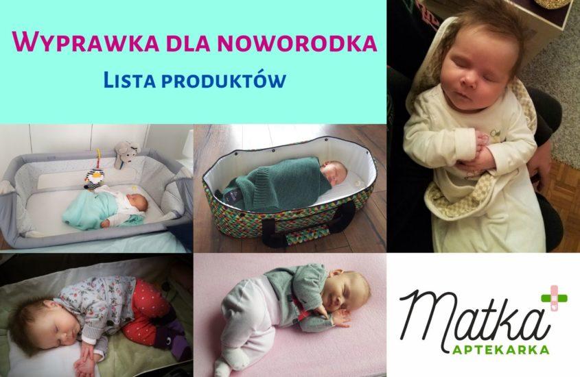 Wyprawka dla noworodka, lista produktów Matka Aptekarka