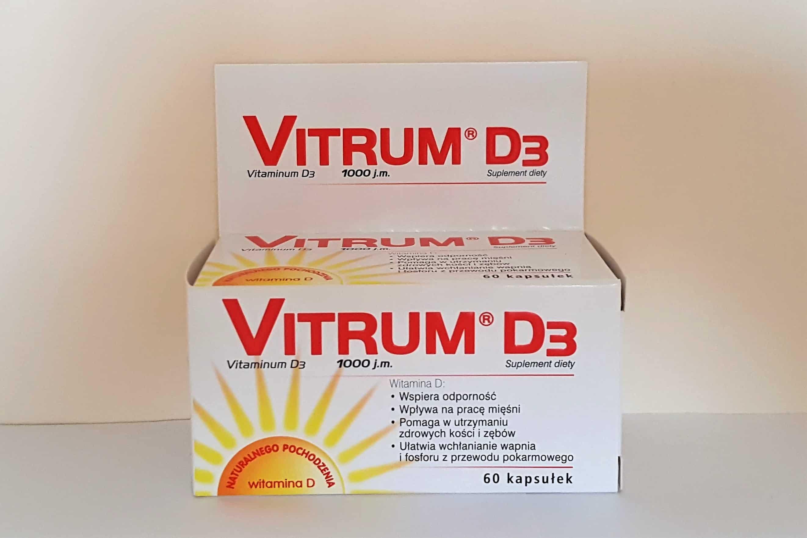 Vitrum D3 1000 j.m., witamina D, kapsułki Matka Aptekarka