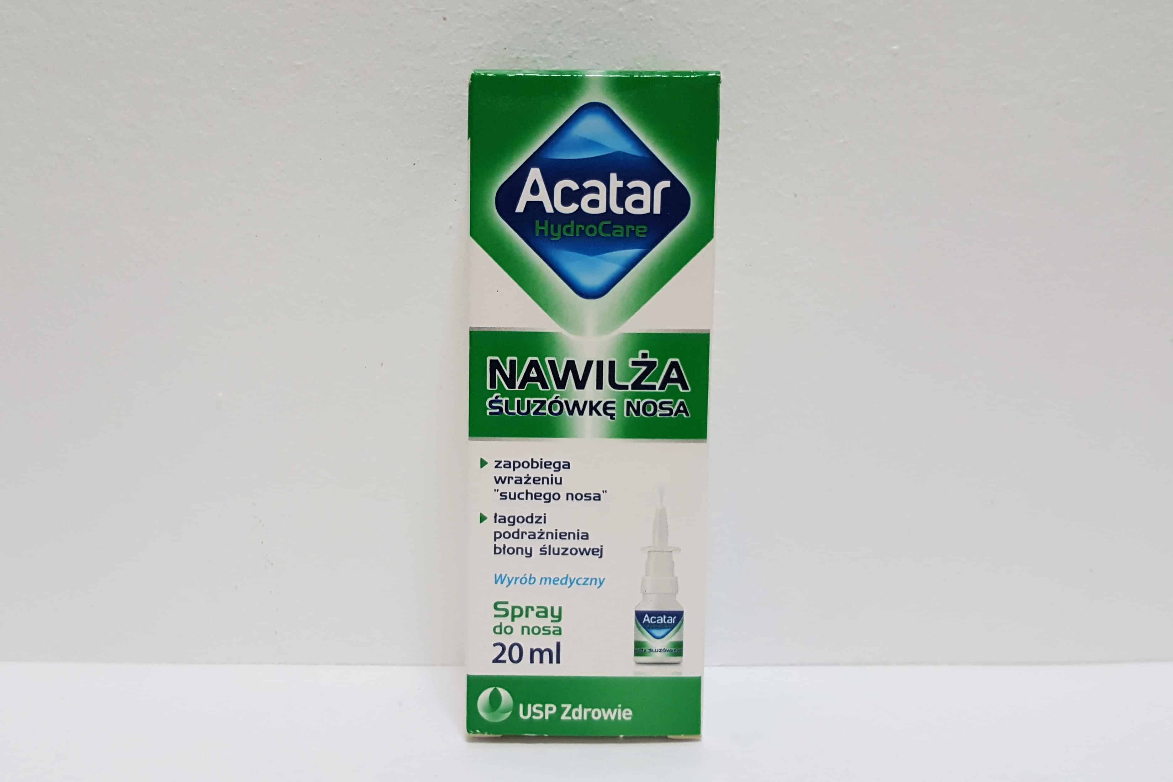 Acatar HyloCare spray nawilżajacy Matka Aptekarka