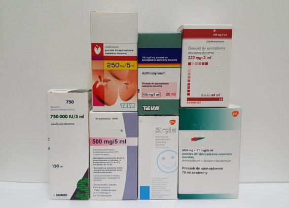 Antybiotyki w zawiesinie Matka Aptekarka