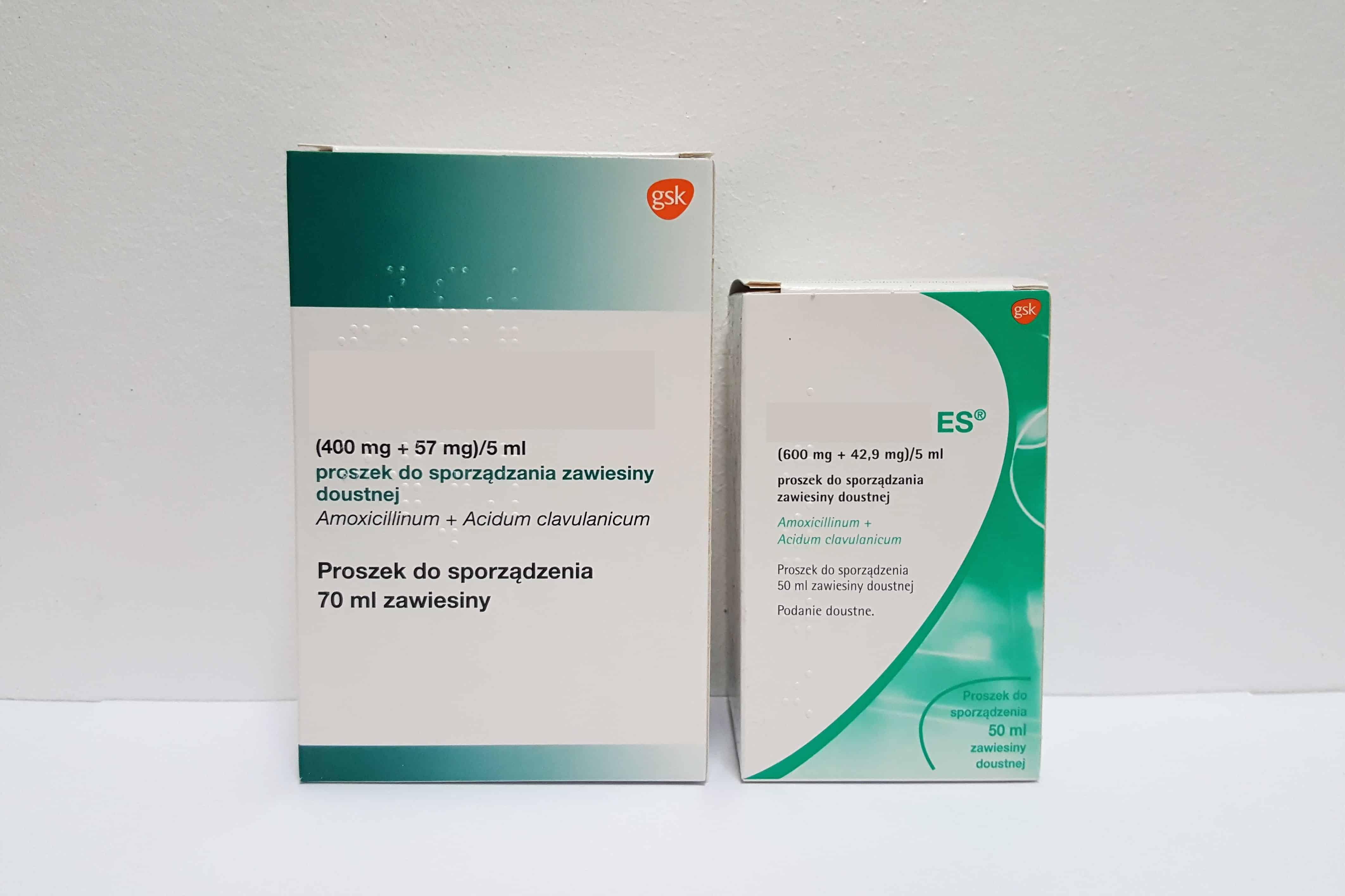 Augmentin iAugmentin ES antybiotyk wzawiesinie Matka Aptekarka