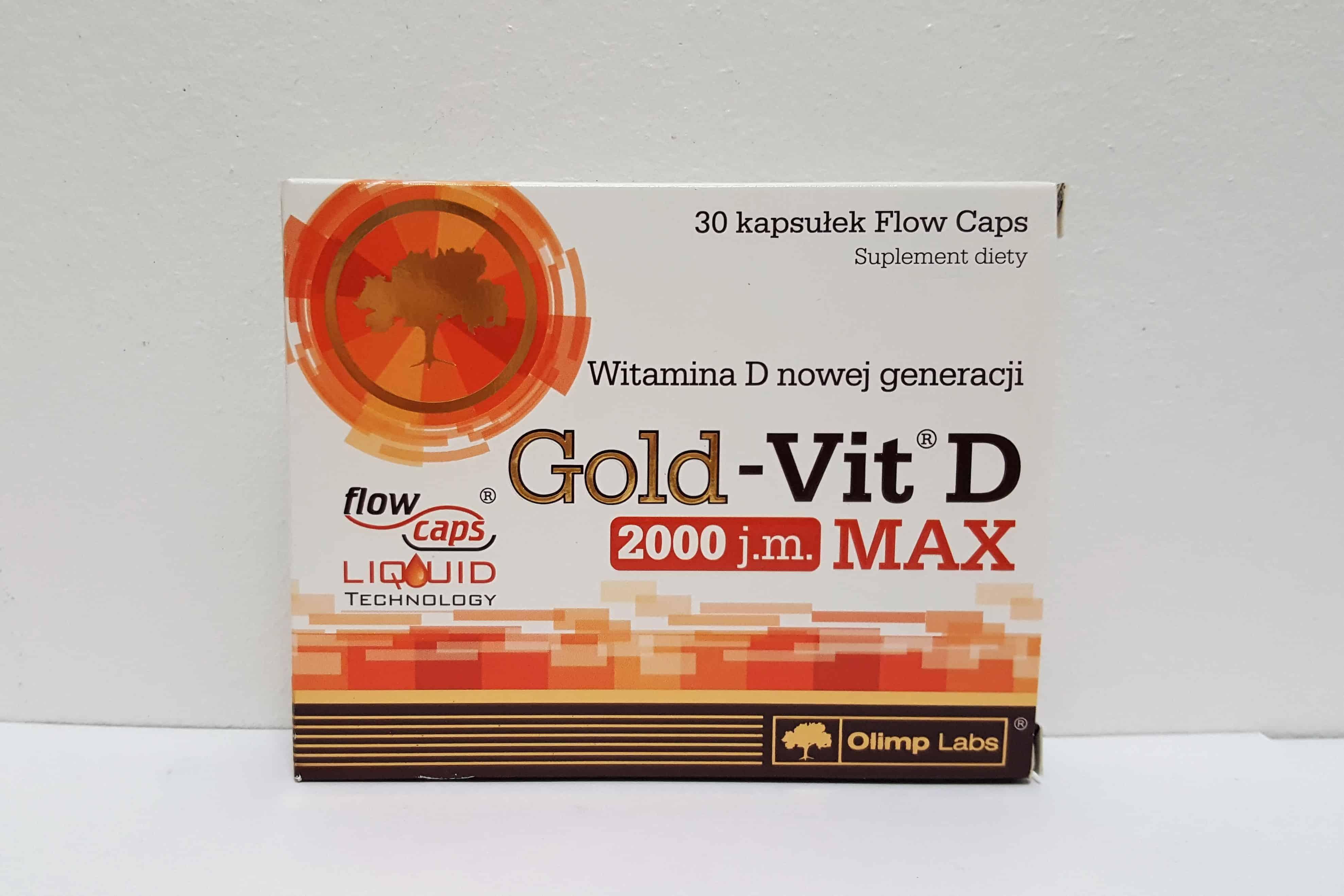 Olimp Gold-Vit D Max2000 j.m. Matka Aptekarka