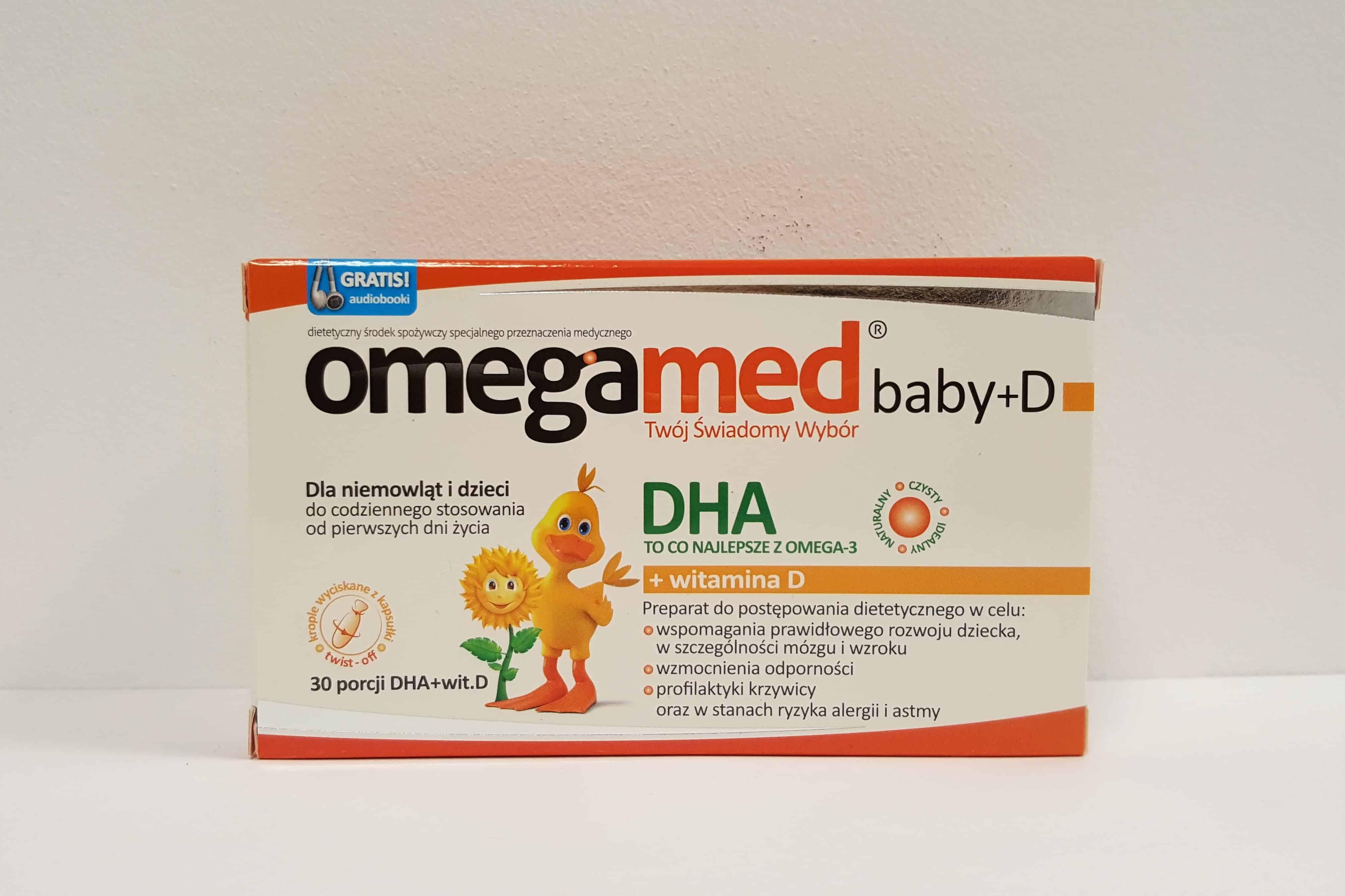Omegamed baby+D twist off Matka Aptekarka