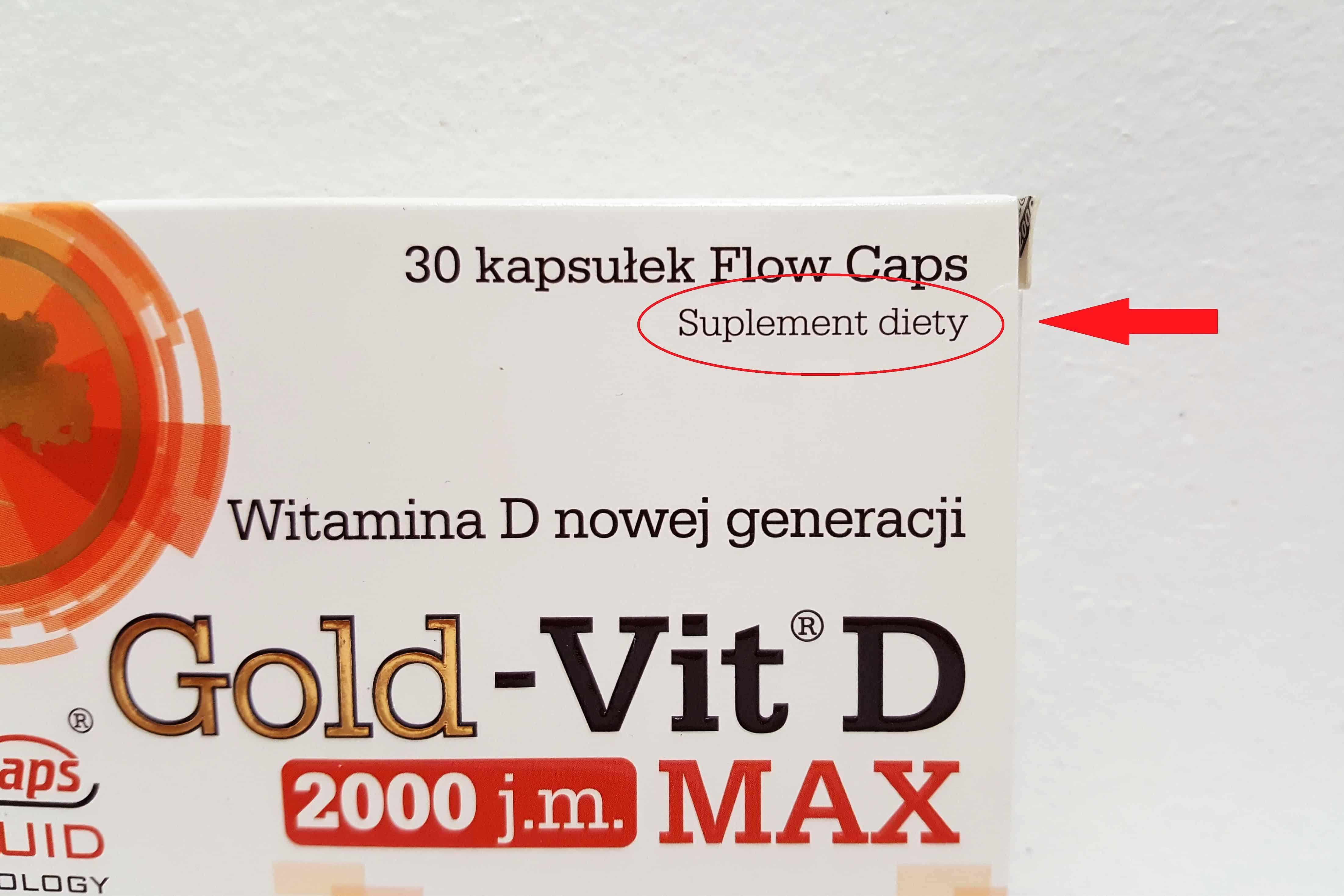 suplement diety Olimp Gold-Vit D Max2000 j.m. Matka Aptekarka