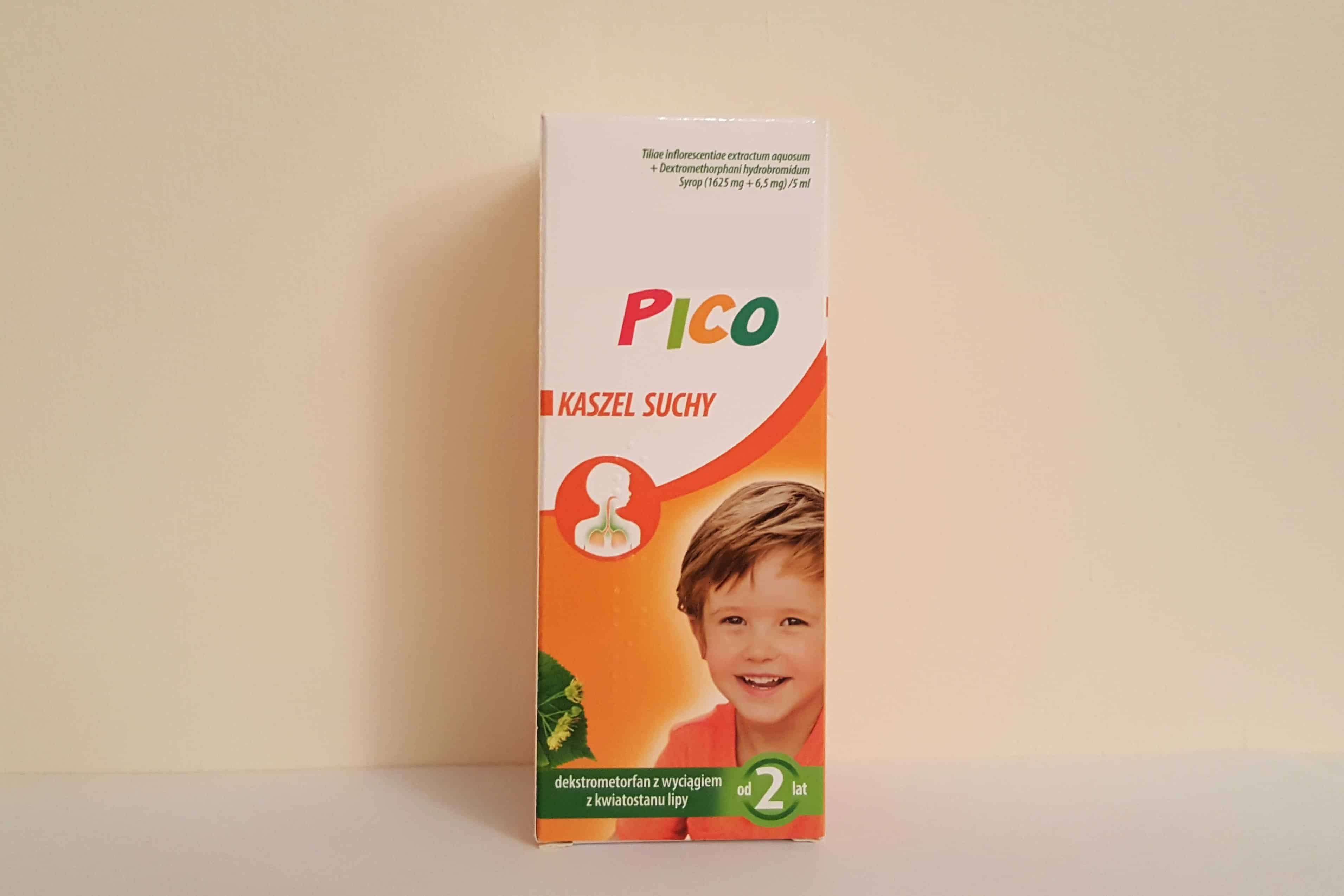 Dexa Pico syrop nasuchy kaszel dla dzieci Matka Aptekarka