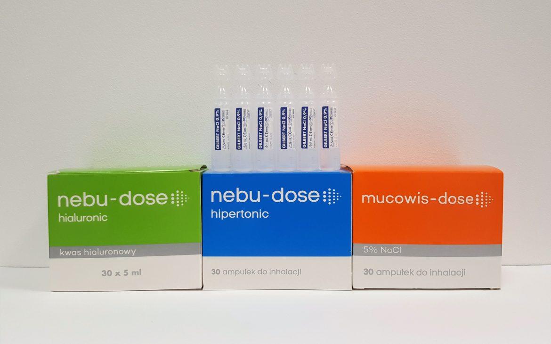 Nebu-dose iMusowis-dose ampułki Matka Aptekarka