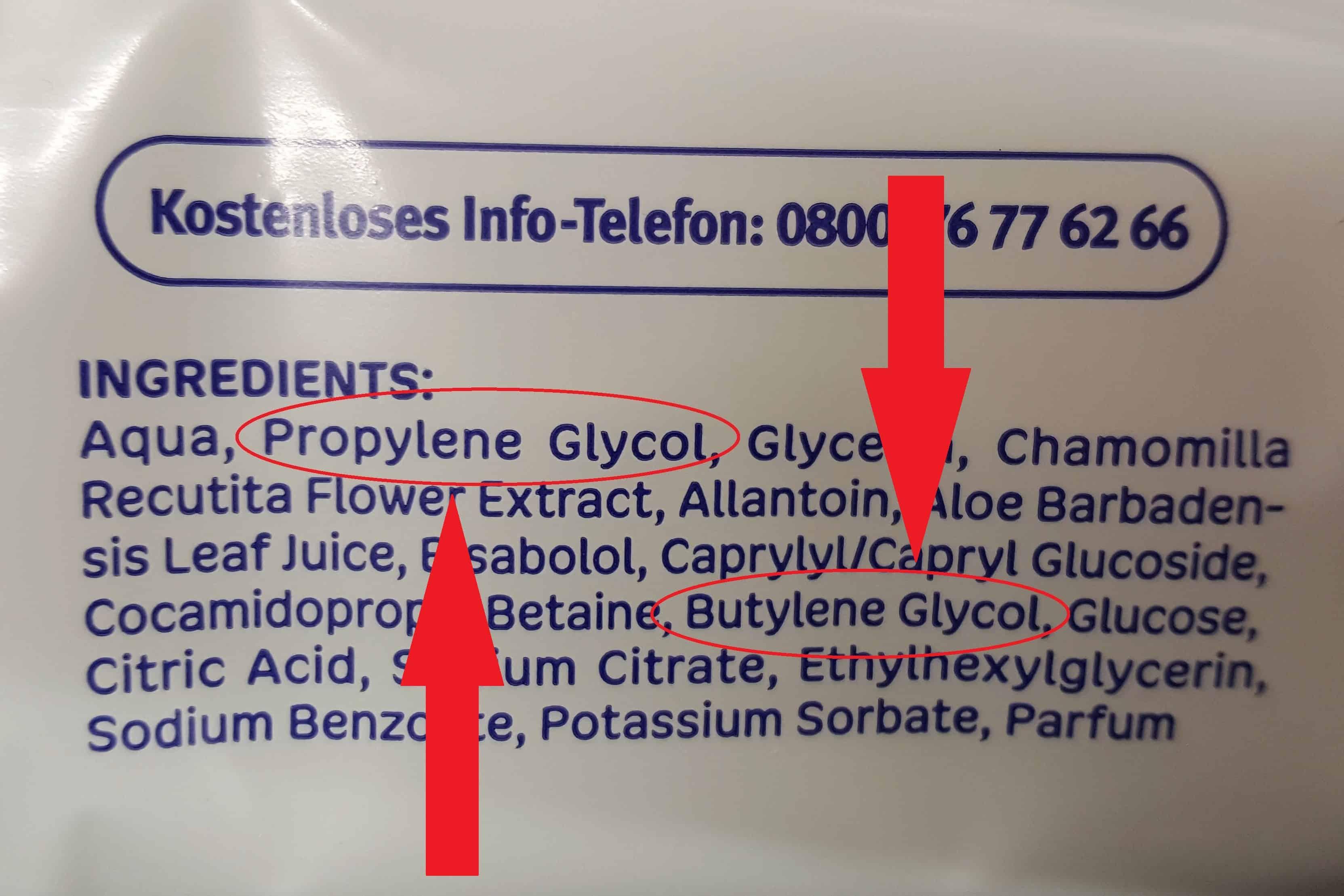 8. Glikol propylenowy ibutylenowy, Propylene Glycol iButylene Glycol wkosmetykach dla dzieci idorosłych Matka Aptekarka