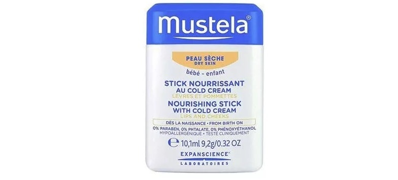 Mustela Bebe, Sztyft ochronnyz cold cream, Matka Aptekarka