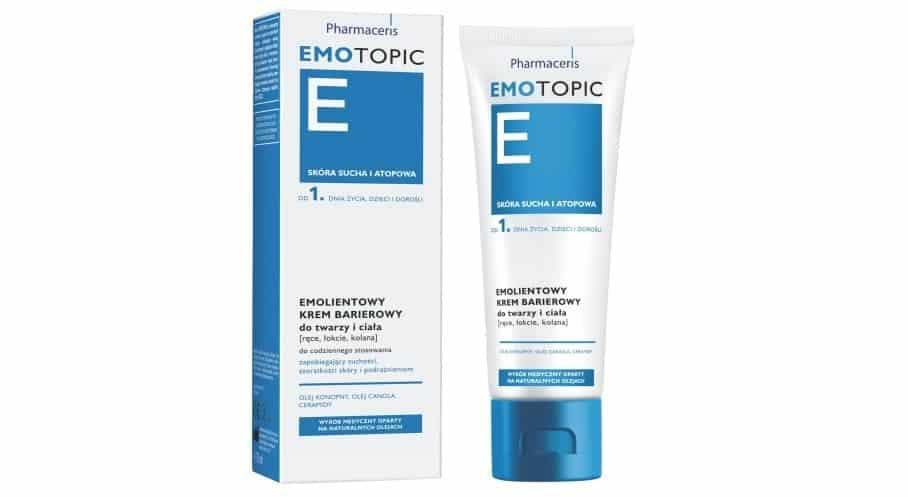 Pharmaceris E Emotopic, emolientowy krem barierowy dotwarzy iciała, Matka Aptekarka