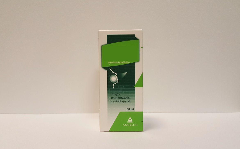 Tantum Verde spray odkMatka Aptekarka