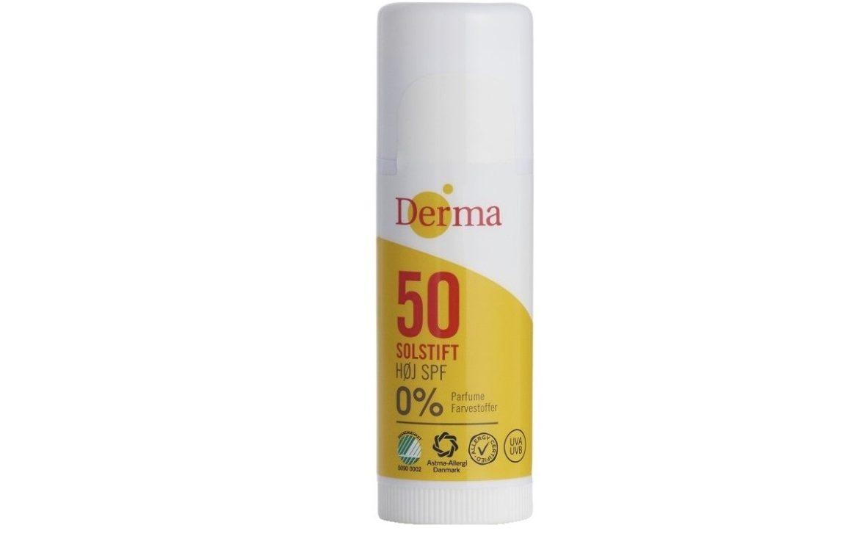 Derma Sun Sztyft słoneczny SPF 50, filtr UV dla dzieci, Matka Aptekarka