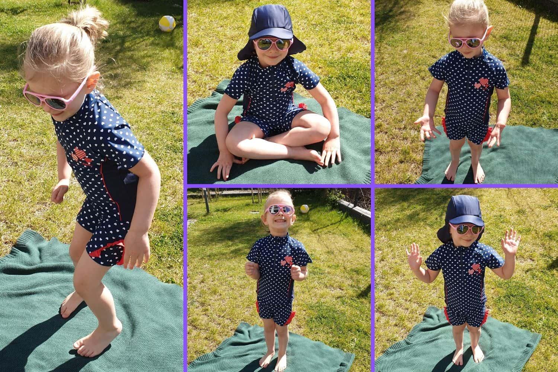 odzież UV, komplet dla maluszków, dla dziecka, zfiltrem UV, UV KIDS, odzież przeciwsłoneczna dla dzieci Matka Aptekarka