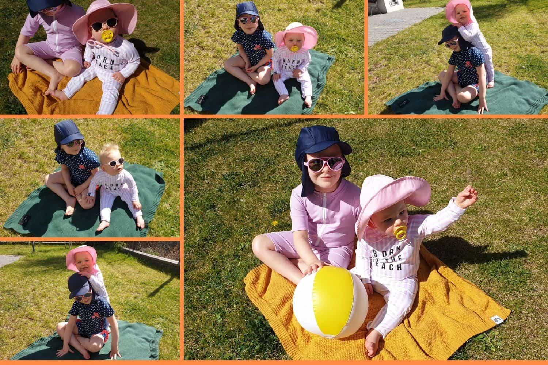 odzież UV, kombinezon zfiltrem UV dla maluszków, dla dziecka, zfiltrem UV, UV KIDS, odzież przeciwsłoneczna dla dzieci Matka Aptekarka