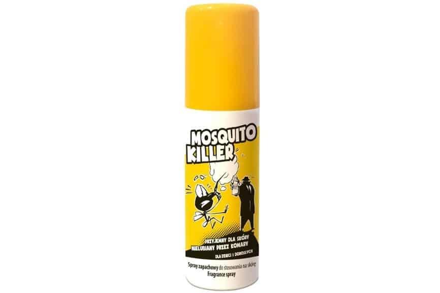 IDEEPHARM Mosquito Killer, spray zapachowy dostosowania naskórę, dla dzieci idorosłych, Matka Aptekarka