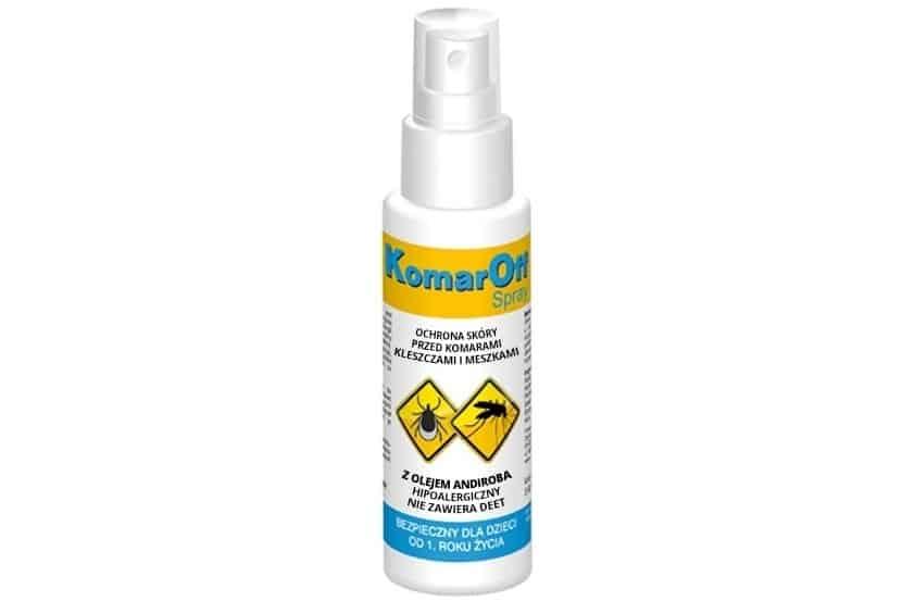 KomarOff, spray nakomary, kleszcze imeszki, od1 roku życia, Matka Aptekarka