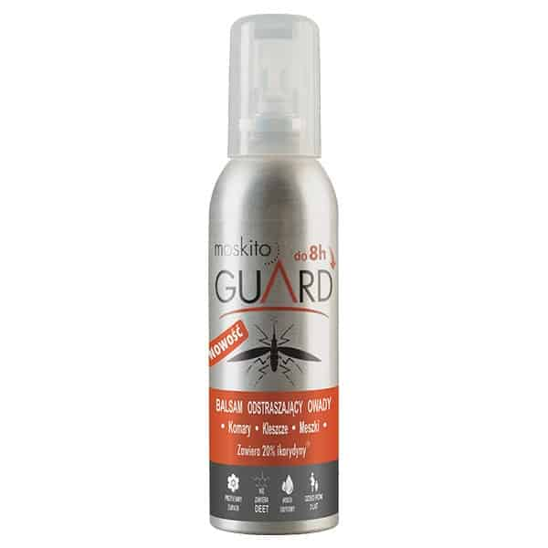 Moskito Guard, balsam odstraszający owady komary, kleszcze, meszki, ikarydyna, Matka Aptekarka