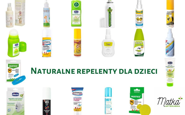"""""""Naturalne"""" repelenty dla dzieci. Analiza preparatów odstraszających komary, kleszcze iinne latające insekty. Część 1."""