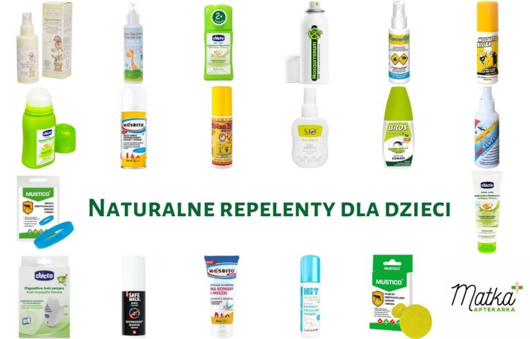 Naturalne repelenty dla dzieci. Analiza preparatów odstraszających komary, kleszcze i inne insekty latające, Matka Aptekarka