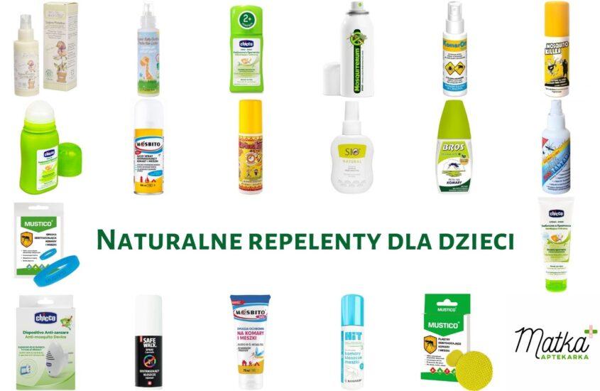 Naturalne repelenty dla dzieci. Analiza preparatów odstraszających komary, kleszcze iinne insekty latające, Matka Aptekarka