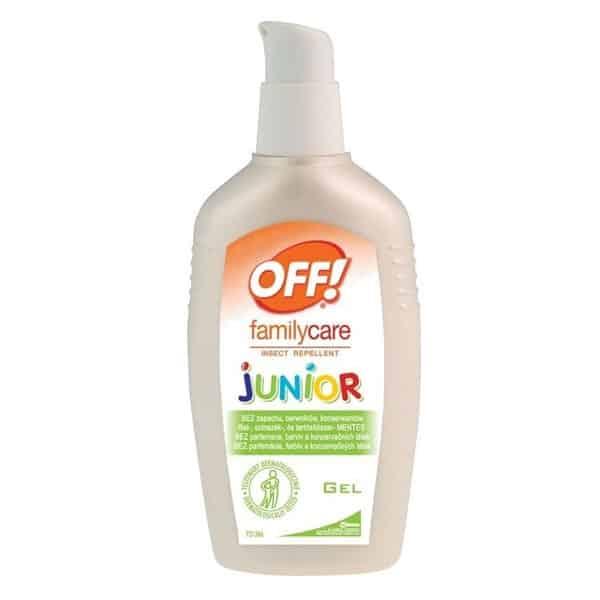 OFF! Family Care Junior Gel, żel odstraszajacy komary zkleszcze, ikarydyna, Matka Aptekarka