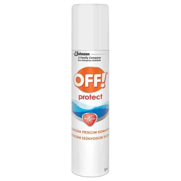 OFF! Protect, ochrona przeciw komarom, aerozol, DEET, Matka Aptekarka