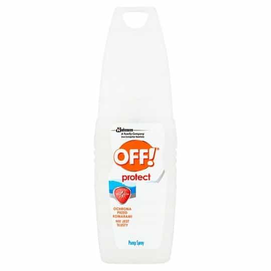 OFF! Protect, ochrona przeciw komarom ikleszczom atomizer, 7% DEET, Matka Aptekarka