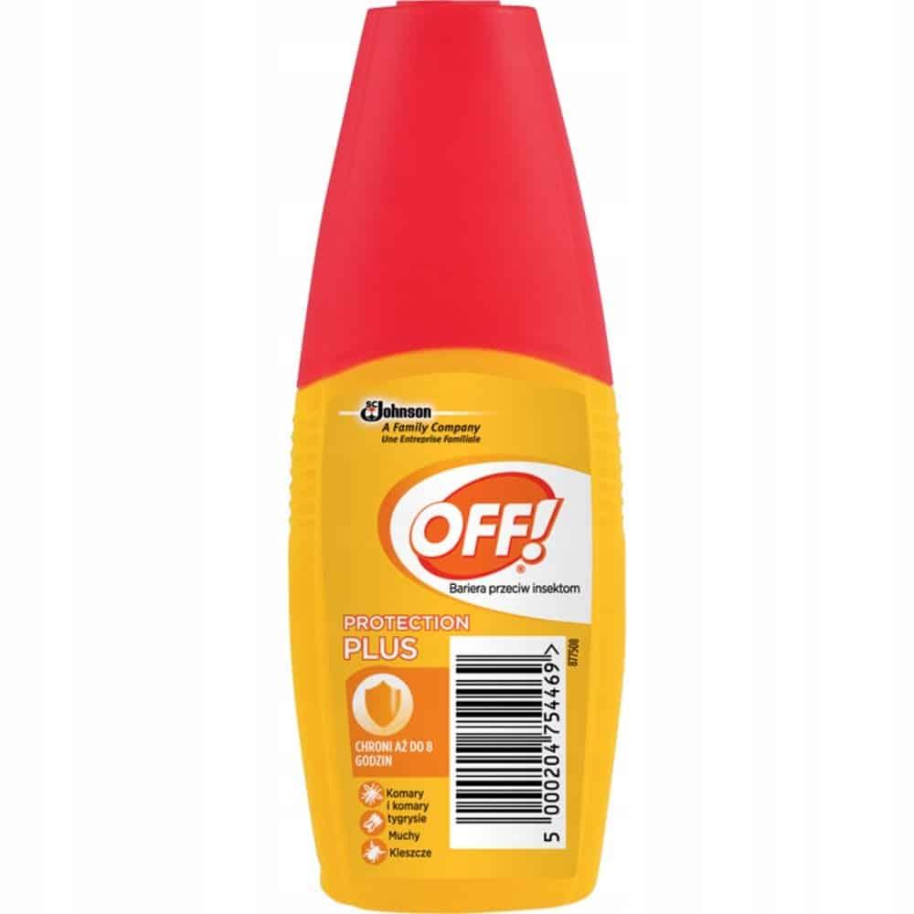 OFF! Protection Plus, atomizer przeciw insektom, ikarydyna, Matka Aptekarka