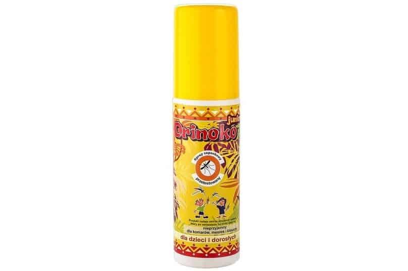 Orinoko Junior, spray ochronny nakomary ikleszcze, dla dzieci, Matka Aptekarka