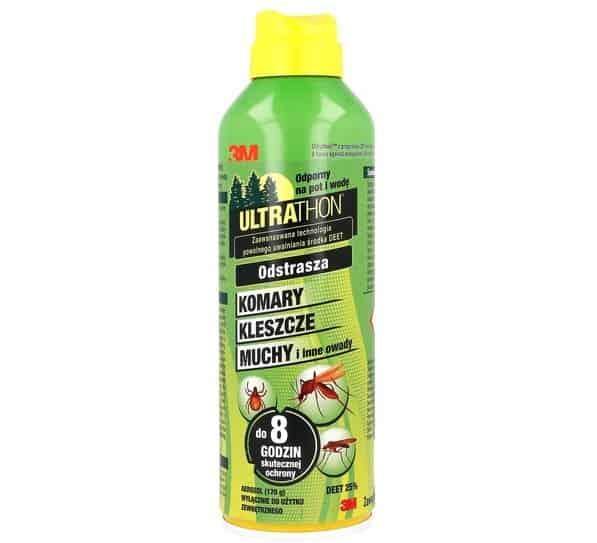 Ultrathon Insect Repellent, spray odstraszający insekty, DEET, Matka Aptekarka