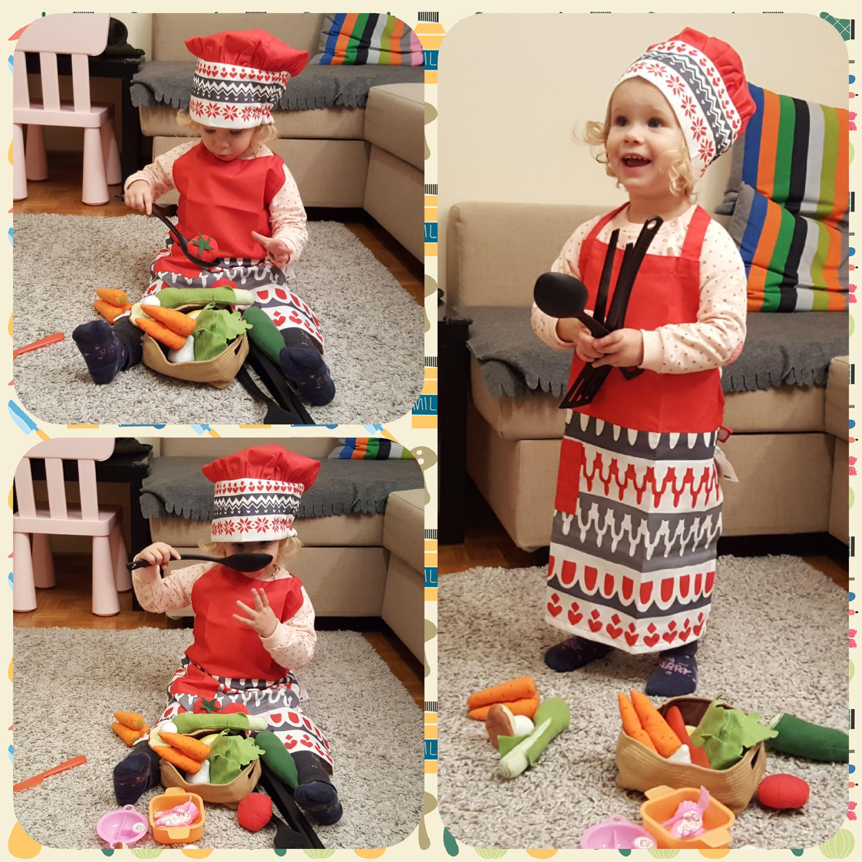 mały kucharz, wspólne gotowanie, przygotowanie posiłków Matka Aptekarka