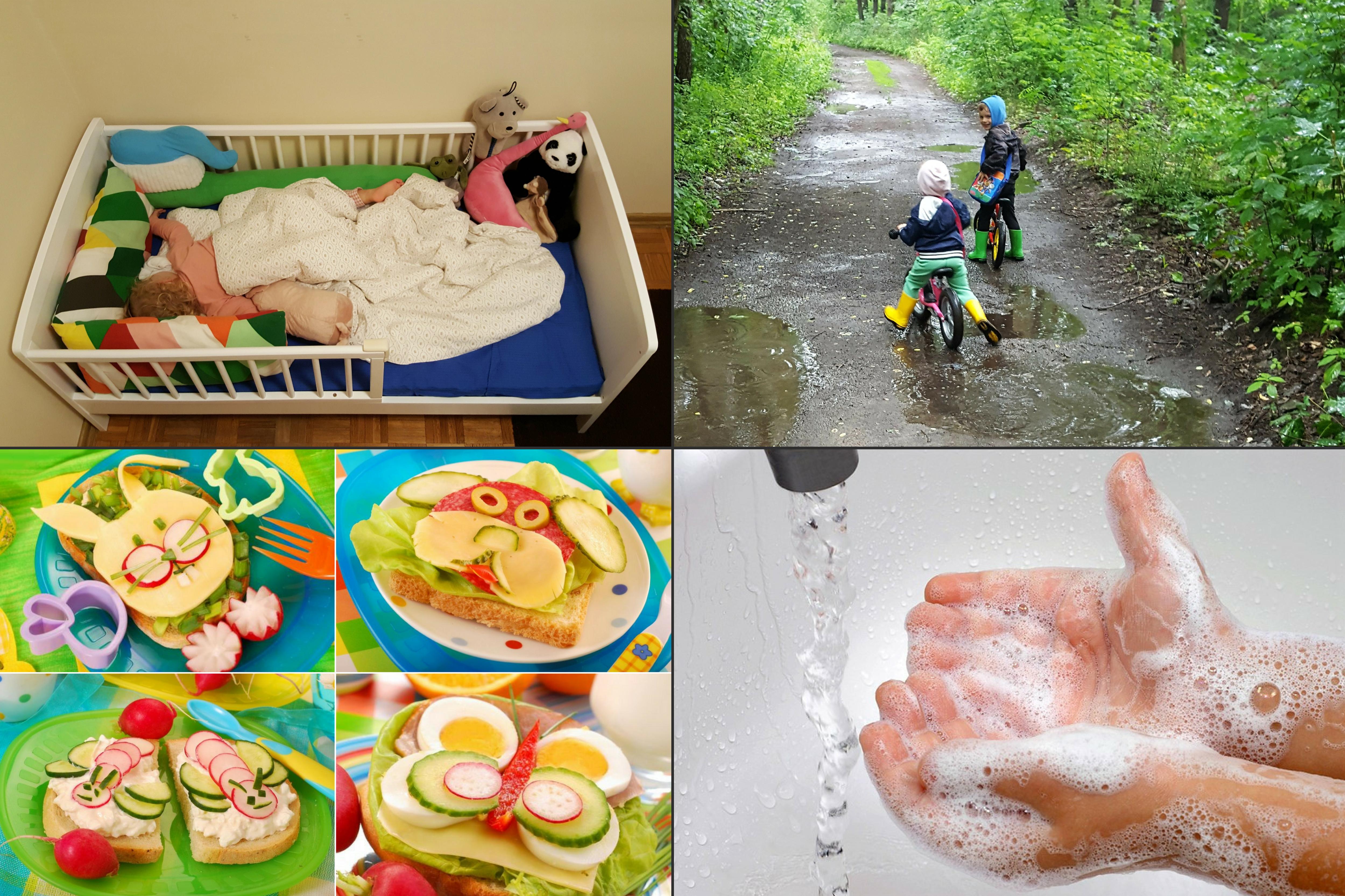 Sen, odpoczynek, spacery, zbilansowana dieta, mycie rąk, odporność Matka Aptekarka