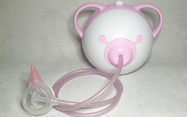 Nosiboo Pro aspirator donosa dla niemowląt idzieci Matka Aptekarka