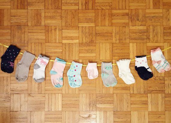 Światowy dzień wcześniaka socks line Matka Aptekarka