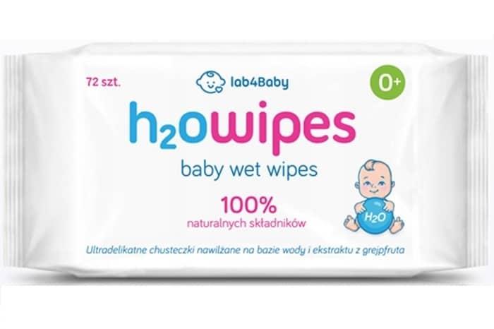 H2O wipes, mokre chusteczki, chusteczki nawilżane, water wipes Matka Aptekarka
