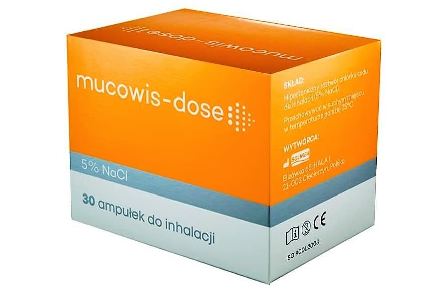 Mucowis-dose 5% NaCl, 5% sól doinhalacji, Matka Aptekarka