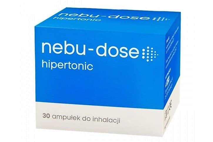 Nebu-dose hipertonic, 3% sól doinhalacji Matka Aptekarka