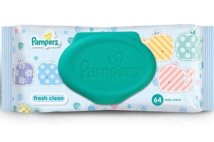 Pampers Fresh Clean chusteczki nawilżane Matka Aptekarka