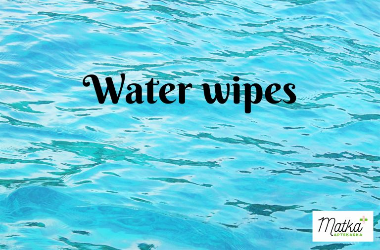 Water Wipes, H2O wipes, mokre chusteczki, chusteczki nawilżane, water wipes, chusteczki nasączane czystą wodą Matka Aptekarka