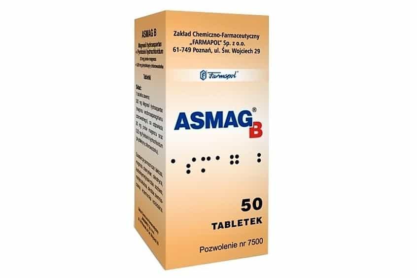 Asmag B, magnez dla dzieci idorosłych, lek, Matka Aptekarka