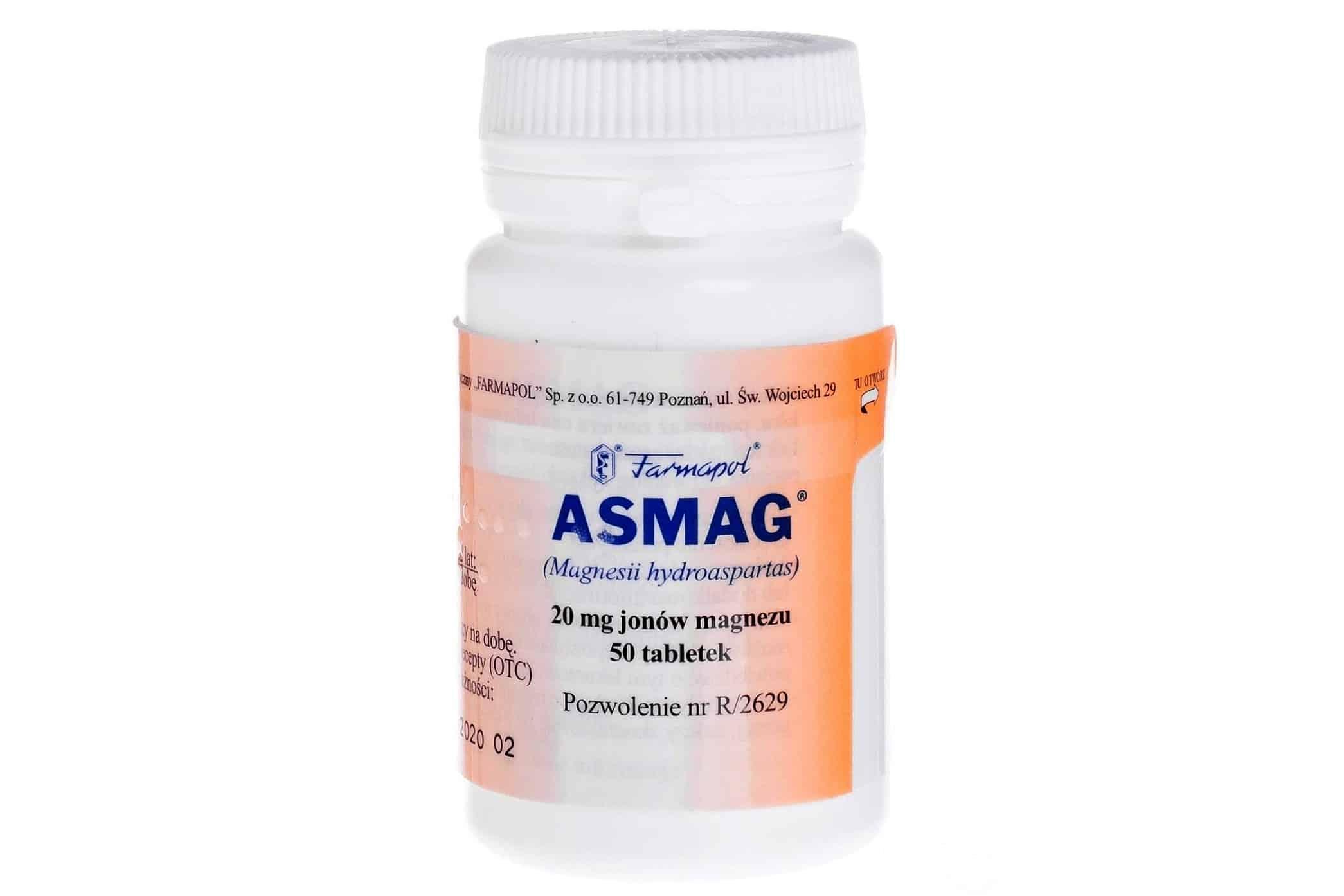 Asmag, magnez dla dzieci idorosłych, lek, Matka Aptekarka
