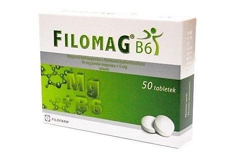 Filomag B6, magnez dla dzieci od4.roku życia, lek, Matka Aptekarka