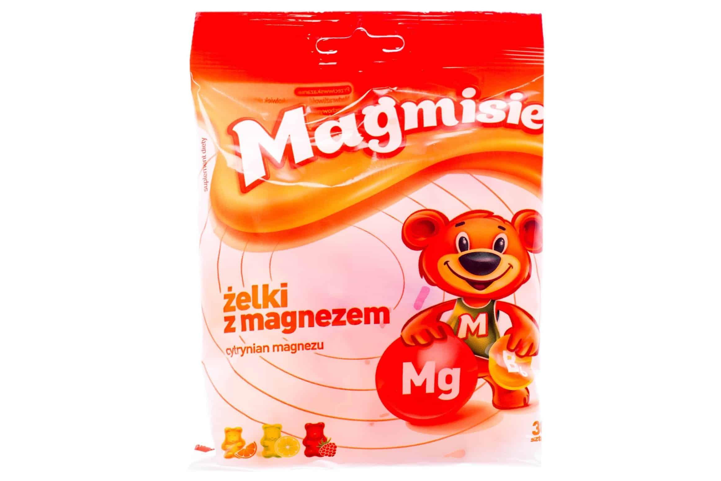 Magmisie, żelki zmagnezem, magnez dla dzieci, suplement diety Matka Aptekarka