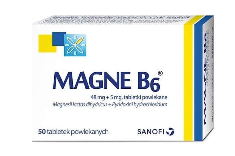Magne B6, magnez dla dzieci od6.roku życia idorosłych, lek, Matka Aptekarka