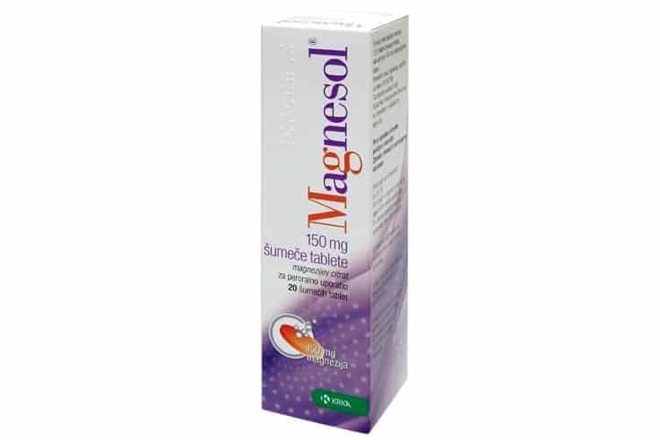 Magnesol 150, magnez dla dzieci idorosłych, rozpuszczalny magnez wtabletkach musujących, suplement diety, Matka Aptekarka