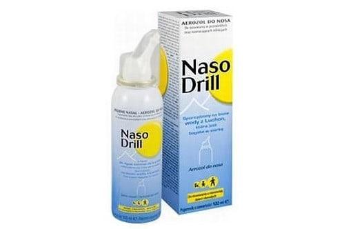 NasoDrill sól morska donosa dla dzieci, izotoniczna, Matka Aptekarka