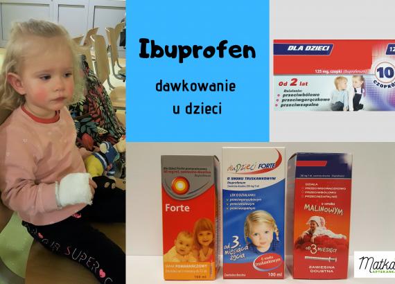 ibuprofen, Ibum, Nurofen, Ibufen, dawkowanie u dzieci, naprzemienne dawkowanie ibuprofenu i paracetamolu Matka Aptekarka