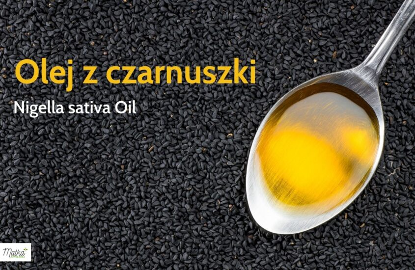Olej zczarnuszki, naodporność, naalergię, Matka Aptekarka