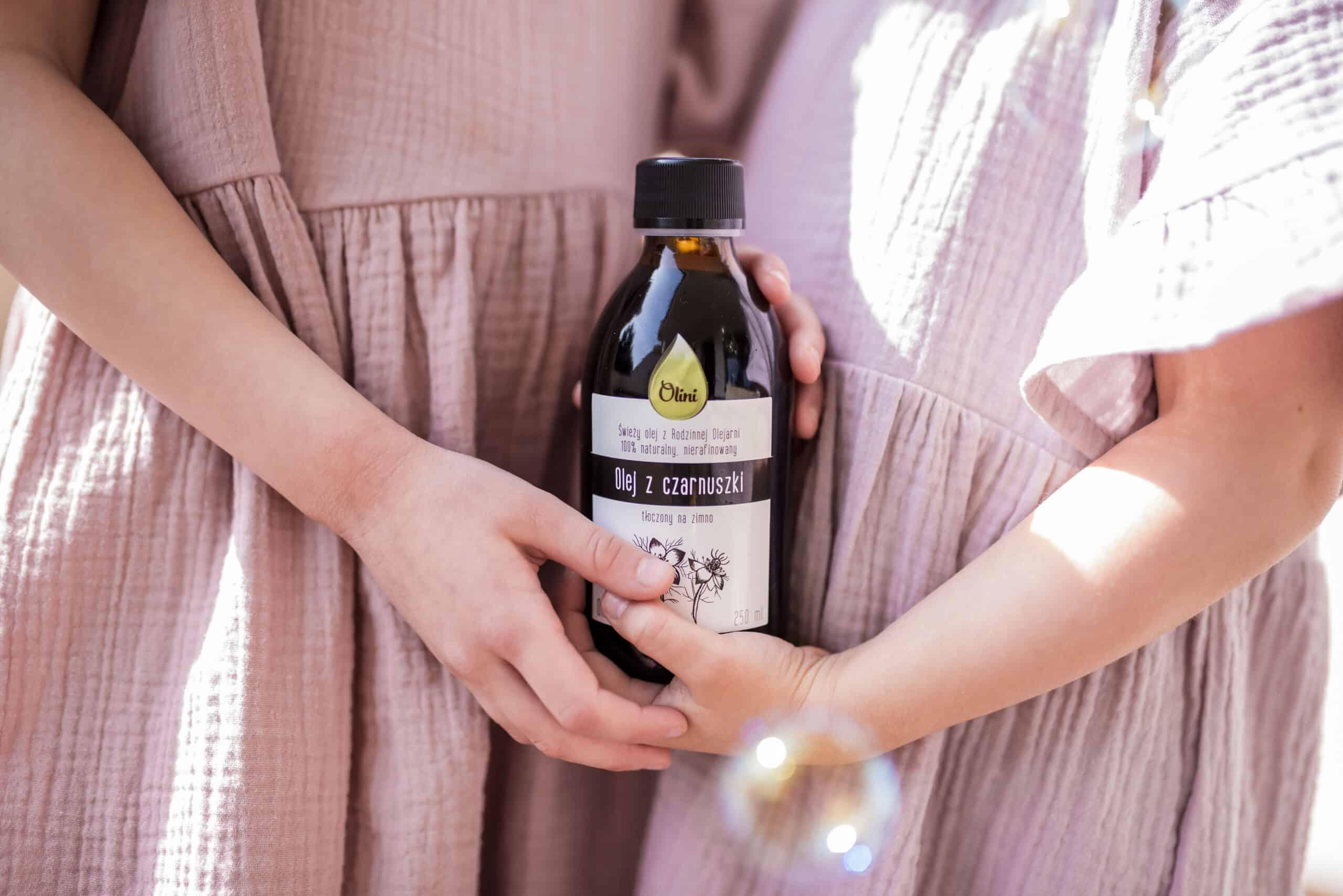 Olini, olej zczarnuszki, odporność, alergia, Matka Aptekarka