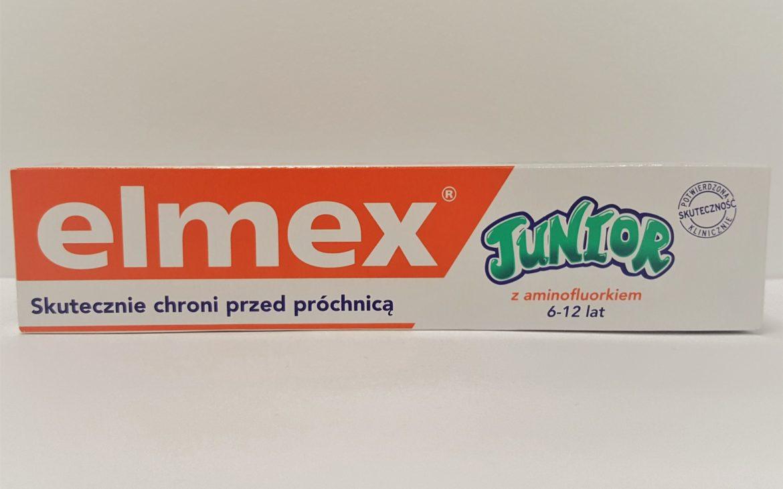 Elmex Junior, pasta dozębów zfluorem 1450 ppm, Matka Aptekarka