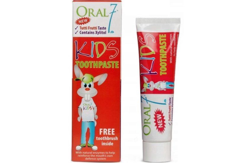 Oral7 Kids pasta dozębów zfluorem 1000 ppm, Matka Aptekarka